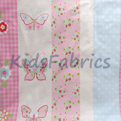 Butterfly Stripe - Pink