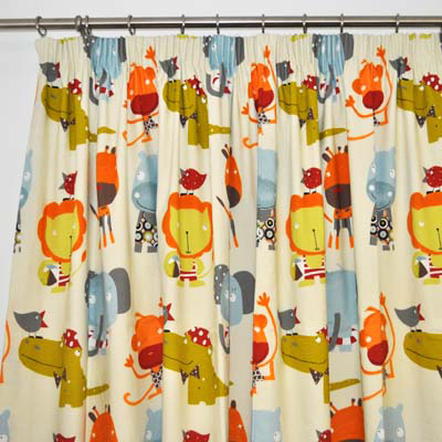 Pencil Curtain Heading on Ready Made curtains for children's rooms